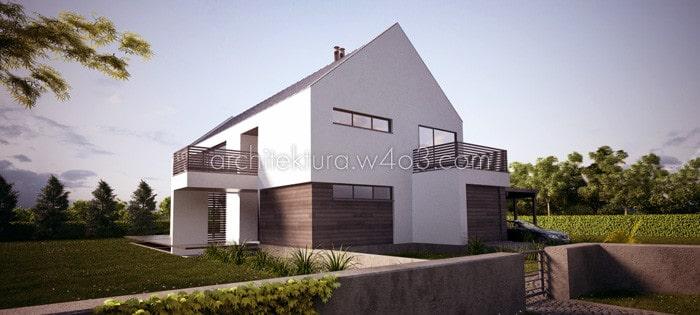 Koncepcja dom jednorodzinny