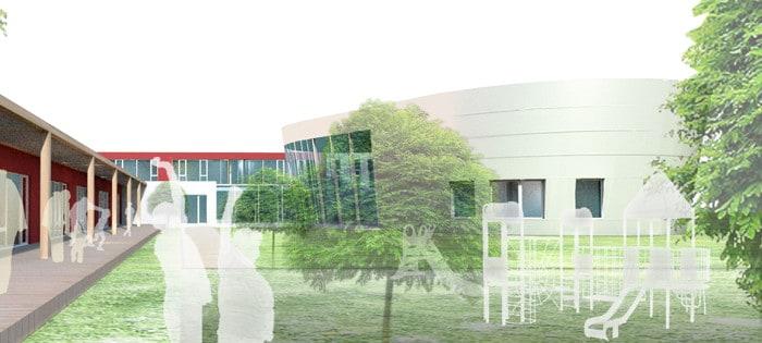 projekt budynku szkoły podstawowej