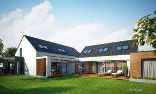 duży podmiejski rodzinny dom dla pięcioosobowej rodziny